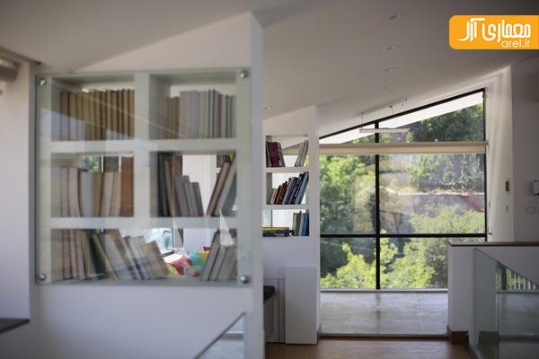 معماری مدرن ویلا R01  در طالقان