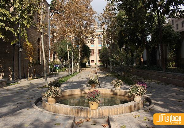 شنبه های نگاه آرل به تهران: باغ نگارستان
