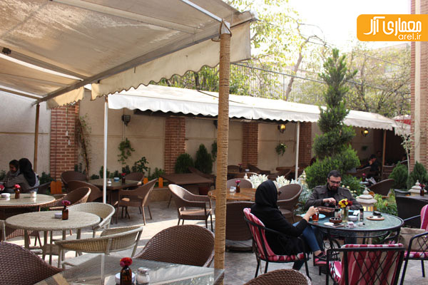 شنبه های نگاه آرل به تهران: کافه دیاموند