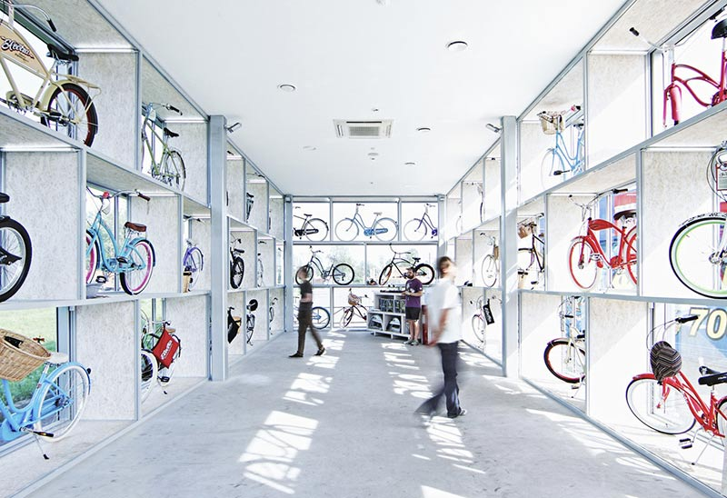 پروژه معماری الهام بخش برای دوچرخه