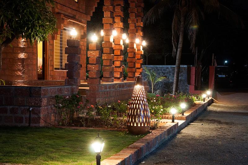 معماری بومی و طراحی داخلی خانه هندی