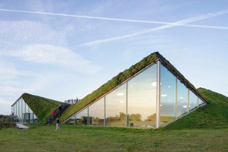 معماری شگفت انگیز موزه