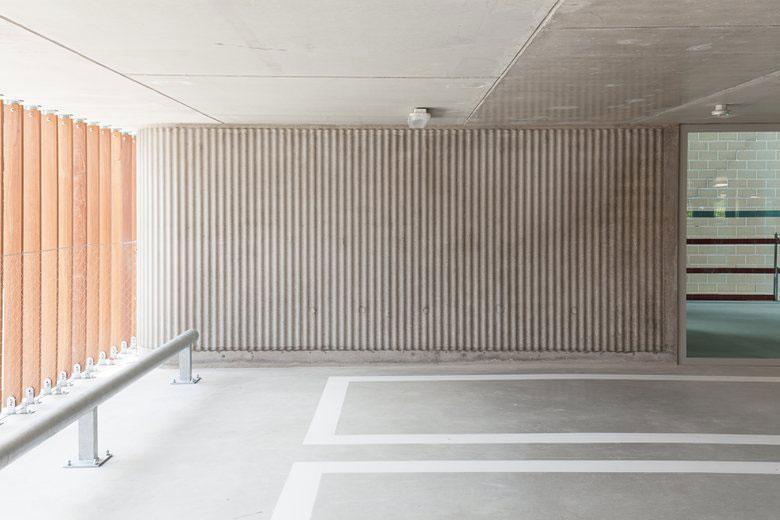 طراحی پارکینگ عمومی