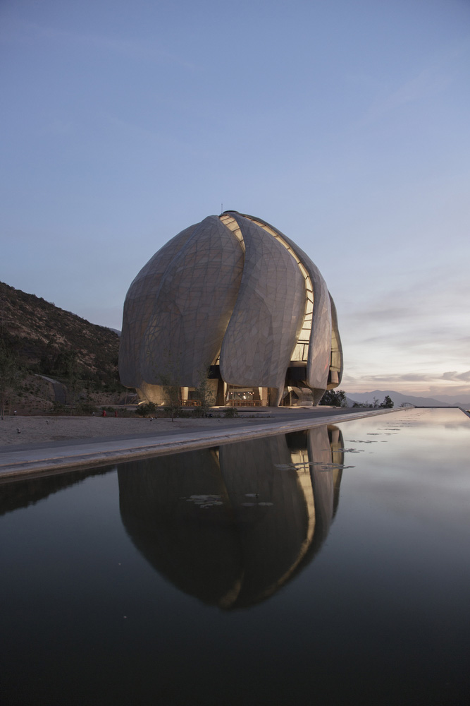 طراحی معبد بهائی