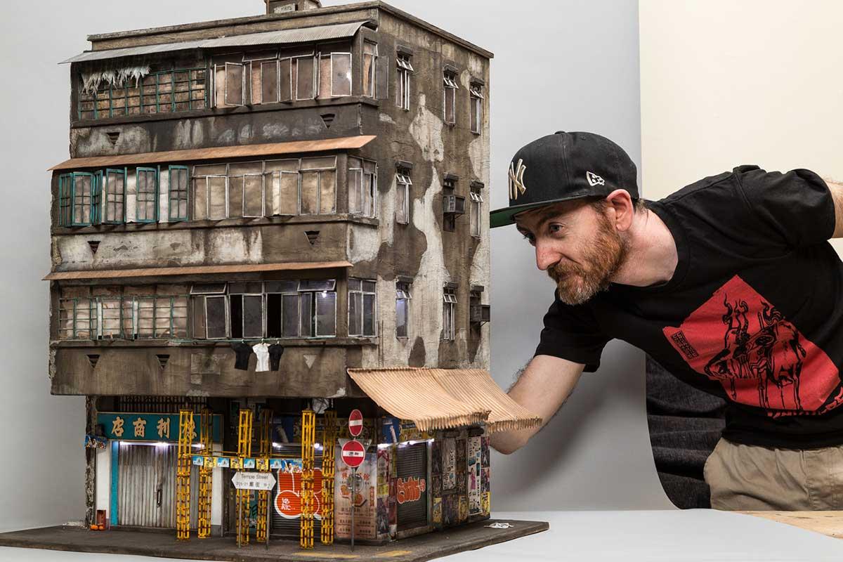 چگونه سیگار بسازیم چگونه با مواد معمولی ماکت معماری سخت در مقیاس کوچک بسازیم ...