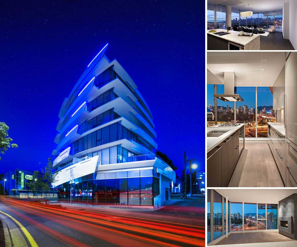 طراحی برج تجاری مسکونی در ونکوور
