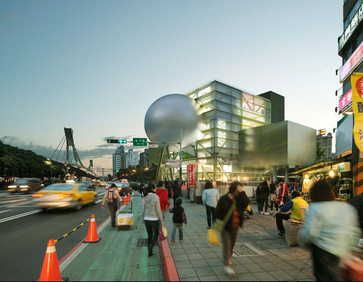 مرکز هنرهای نمایشی تایپه، تایوان، شرکت OMA
