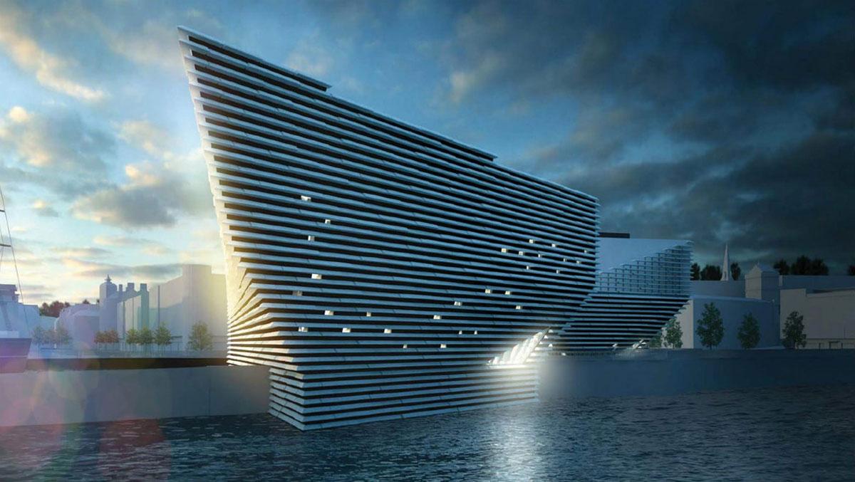 موزه V&D در شهر Dundee