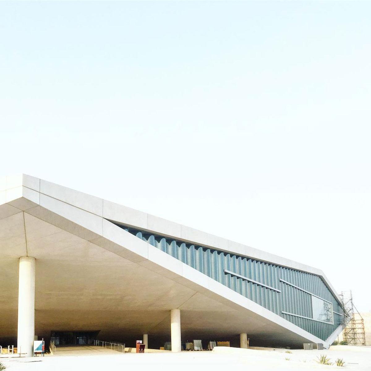 کتابخانه ملی قطر، قطر، OMA