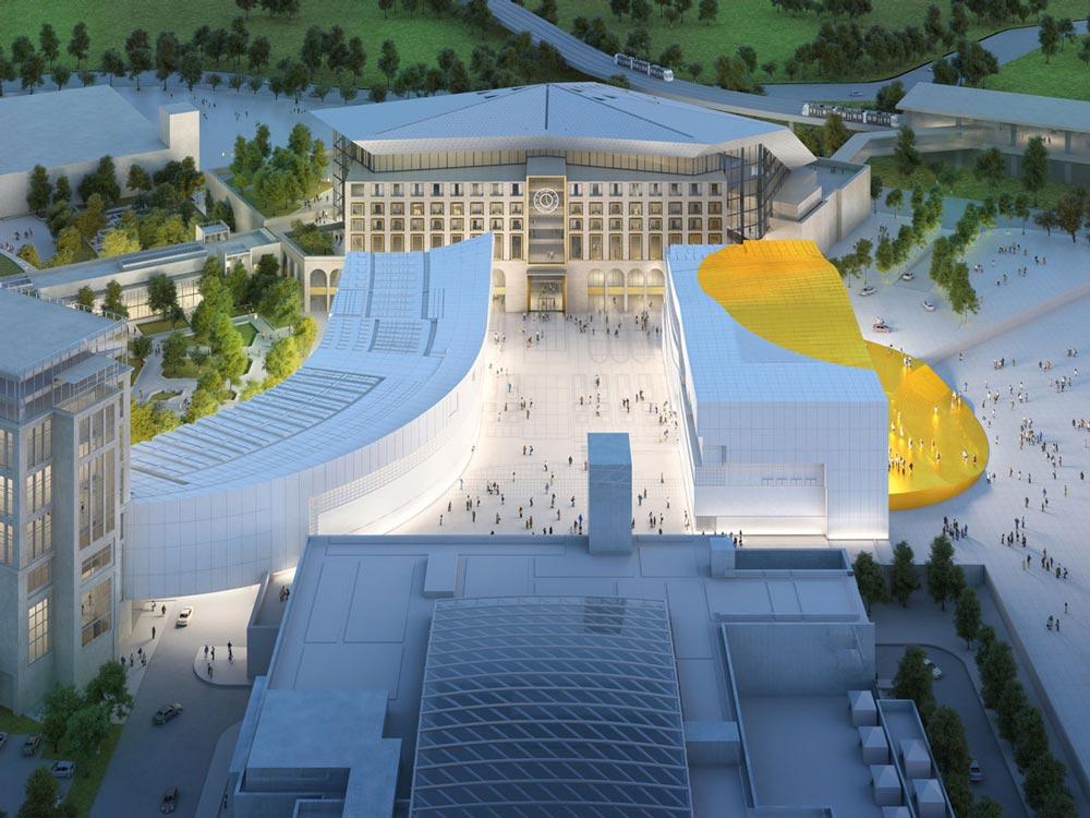 شهر بهشت، کره جنوبی، شرکت MVRDV