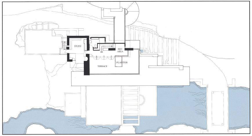 خانه آبشار اثر فرانک لوید رایت