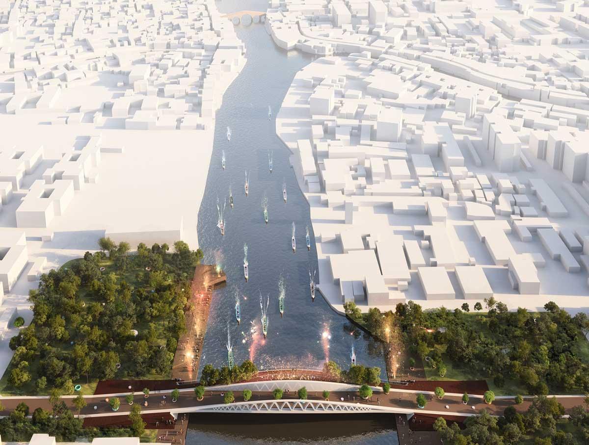 طراحی پل 80 متری