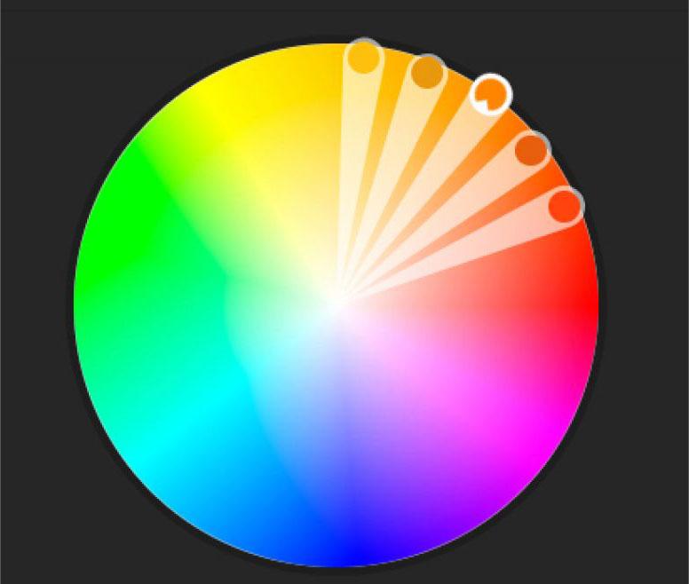 رنگهای غالب