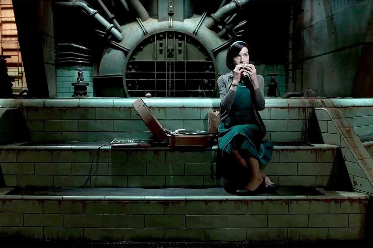 فیلم شکل آب گیرمو دلتورو، بهترین طراحی صحنه 2018