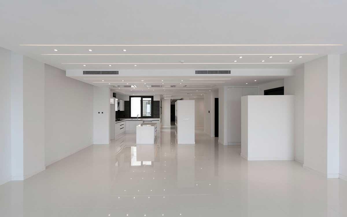 طراحی داخلی ساختمان مسکونی