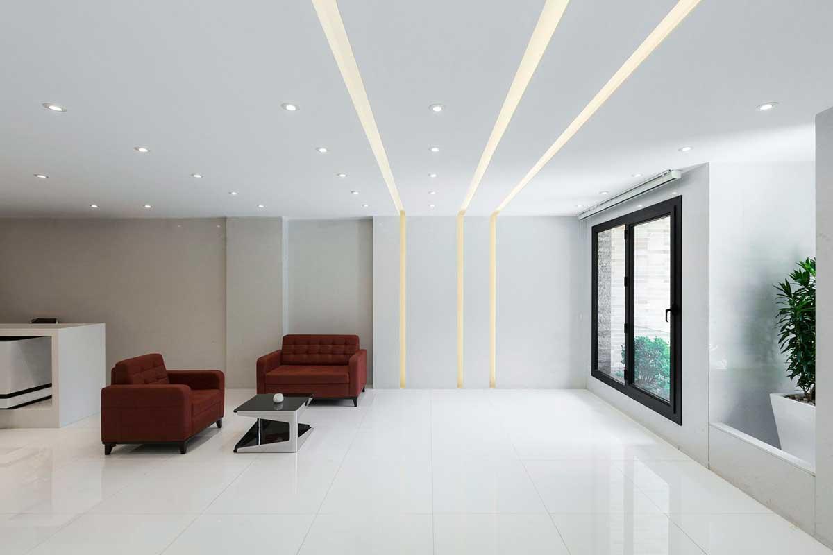 طراحی داخلی ساختمان مسکونی پارک