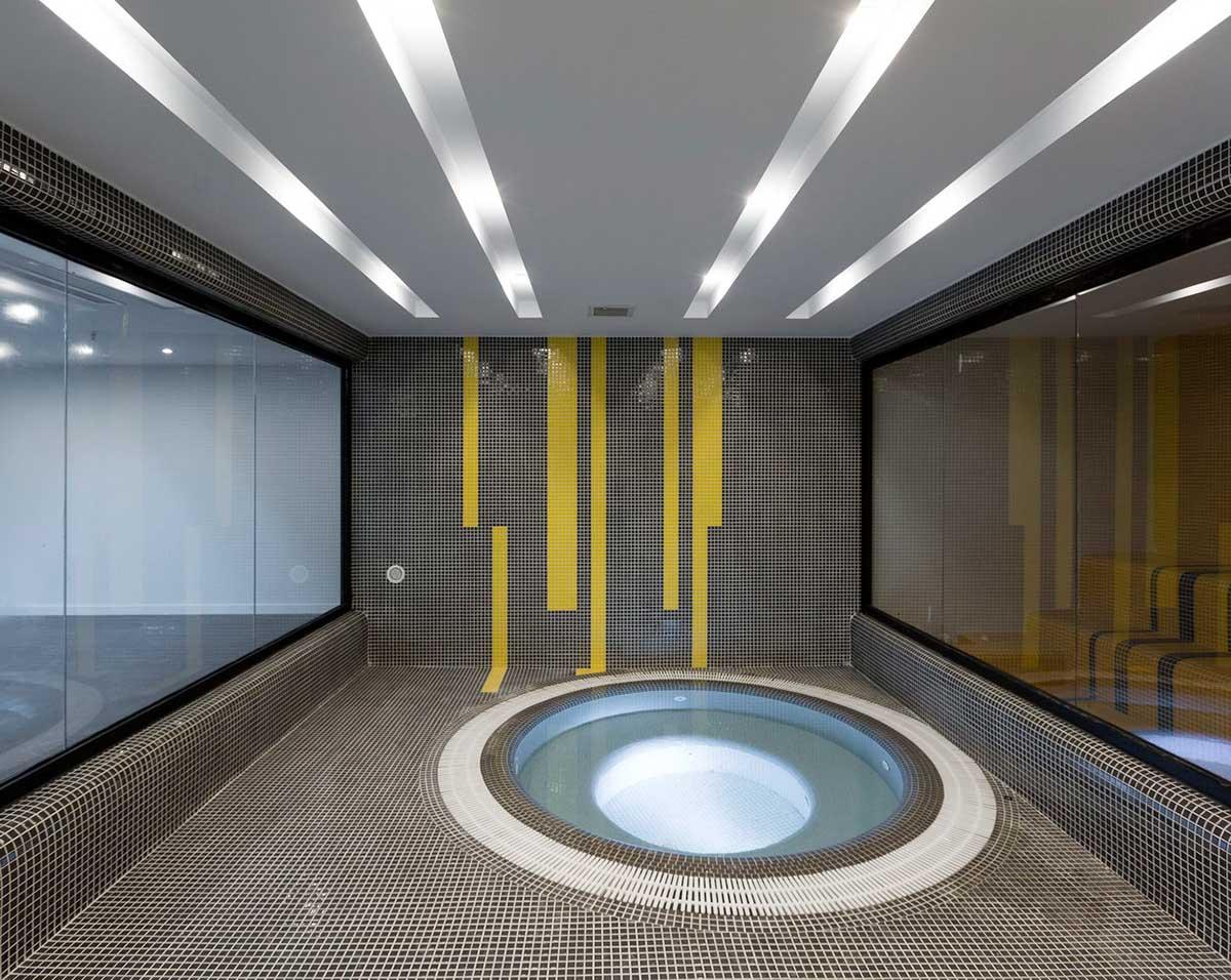 طراحی جکوزی ساختمان مسکونی