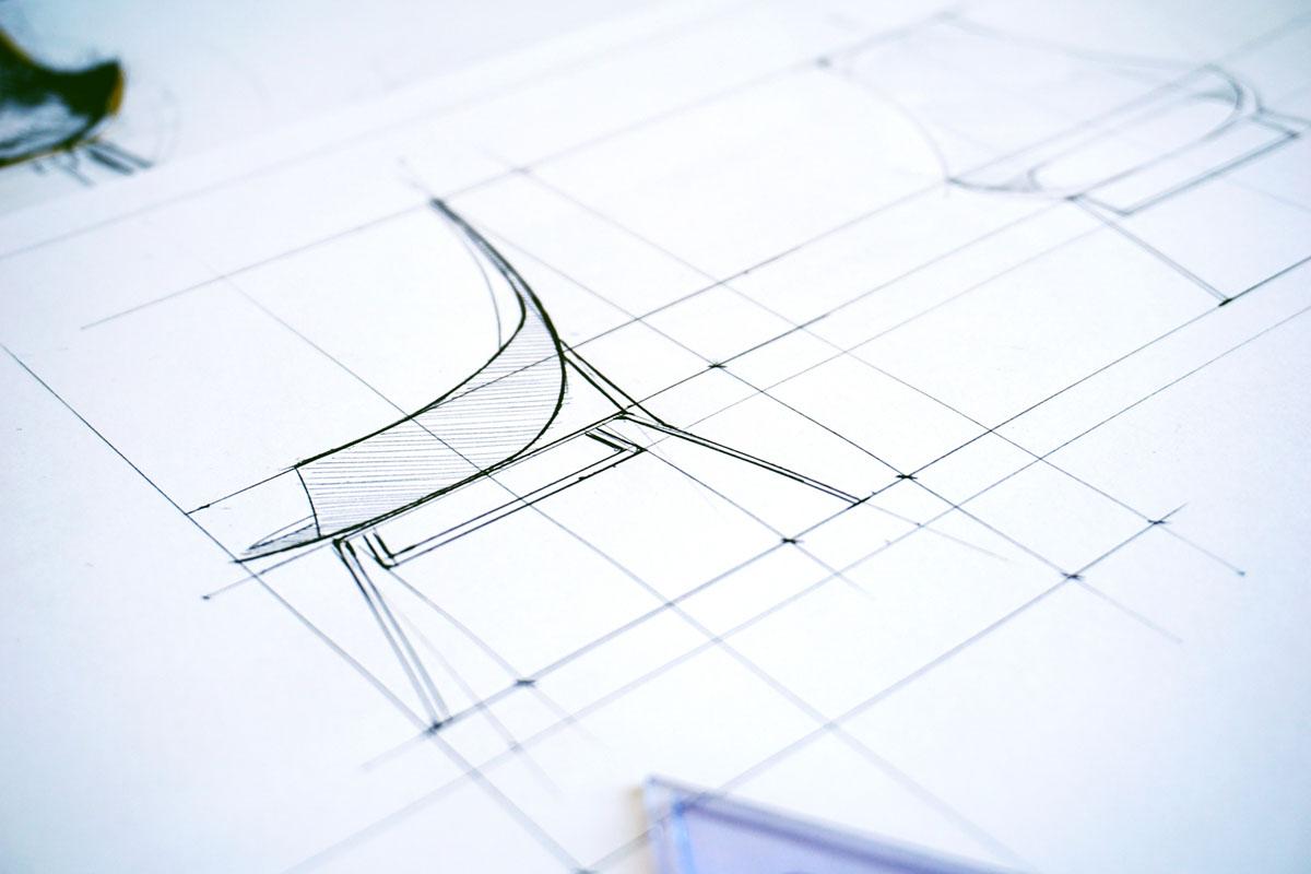 ترسیم فنی در معماری