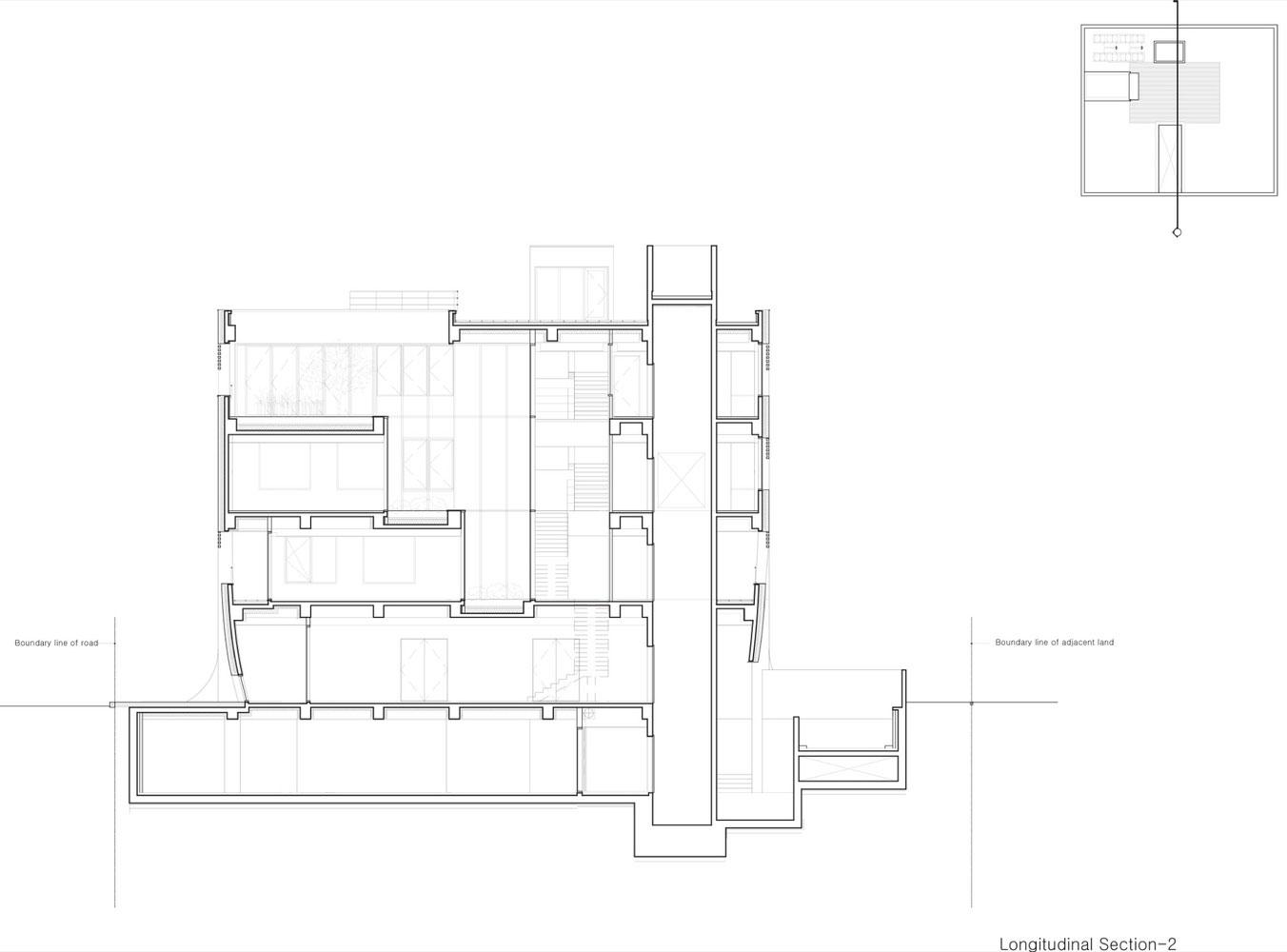 طراحی ورودی ساختمان آجری، با الهام از فرم پرده