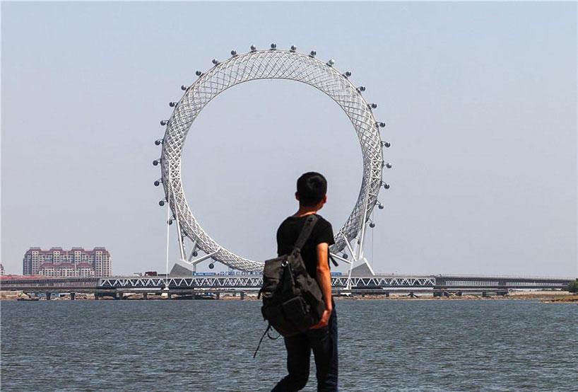 بزرگترین چرخ و فلک جهان در چین