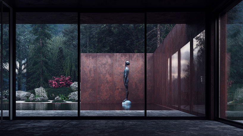 خانه رز با معماری مینیمال