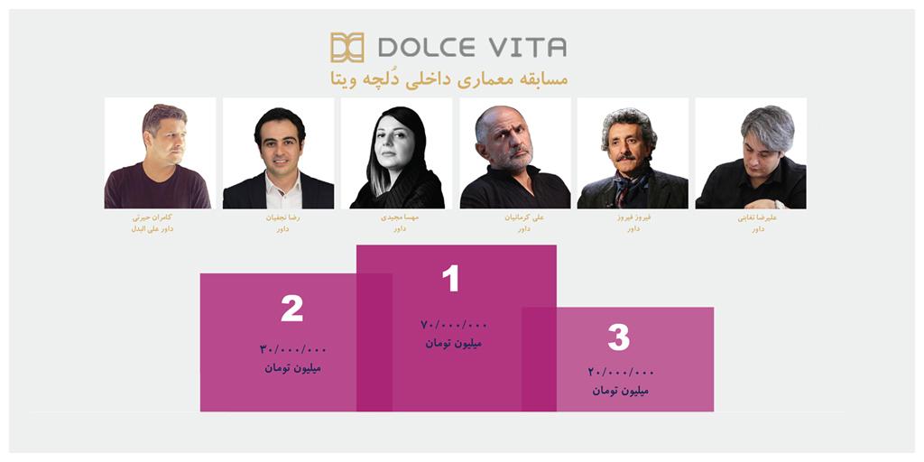 مسابقه معماری داخلی دُلچه ویتا