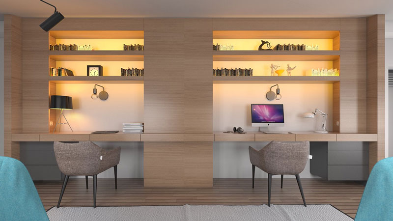 طراحی فضای کار خانگی