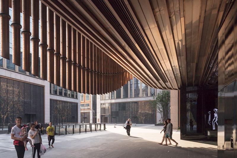 مرکز فرهنگی و هنری شانگهای اثر نورمن فاستر