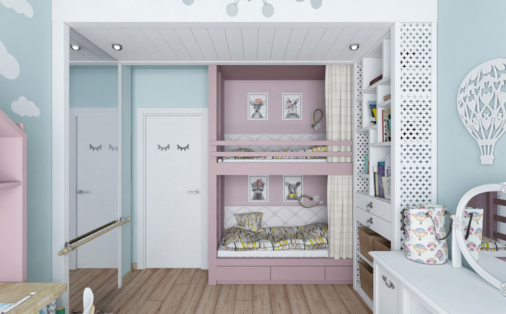 طراحی اتاق خواب کودکان و نوجوانان
