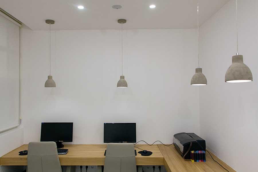 طراحی داخلی دفتر معماری شار