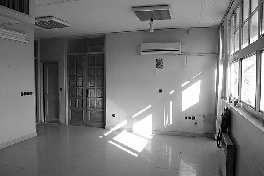 قبل از بازسازی دفتر معماری شار