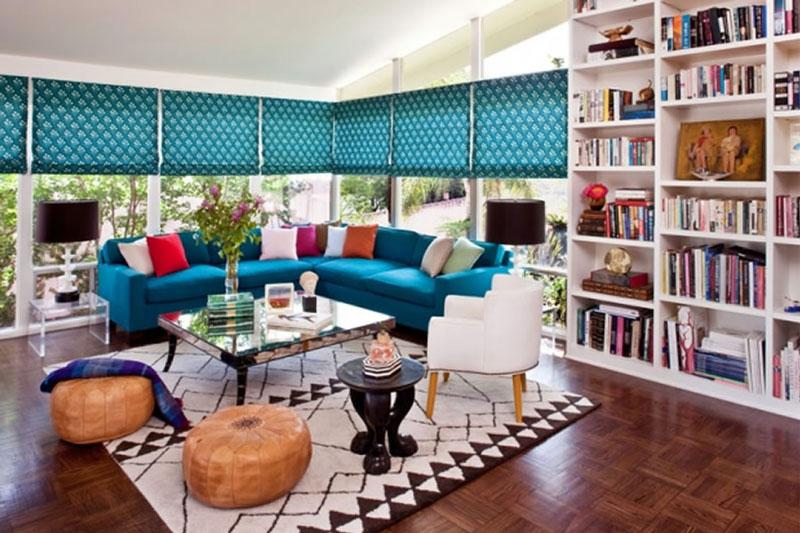 طراحی داخلی به سبک سالن