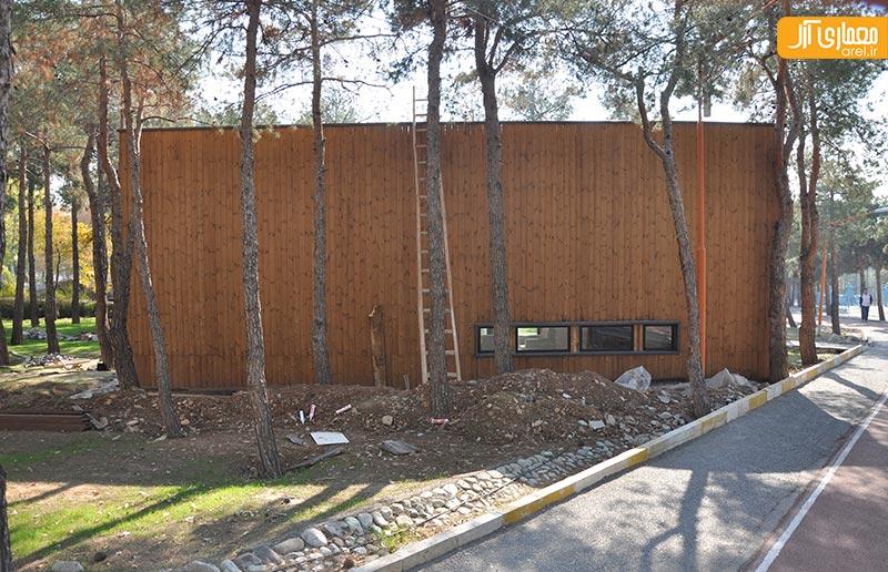 سازه های پیش ساخته در باشگاه انقلاب