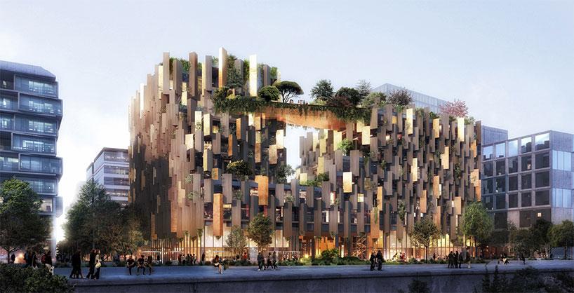 طرح پیشنهادی هتل مجلل و لوکس توسط کنگو کوما