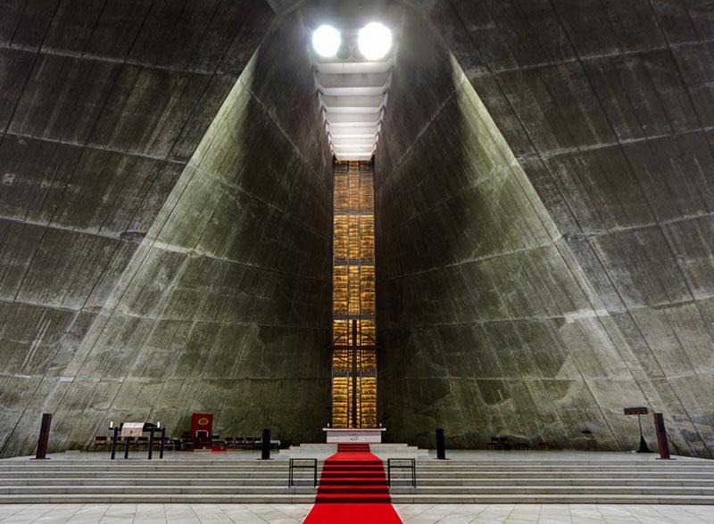 کلیسای سنت ماری اثر «Kenzo Tange»