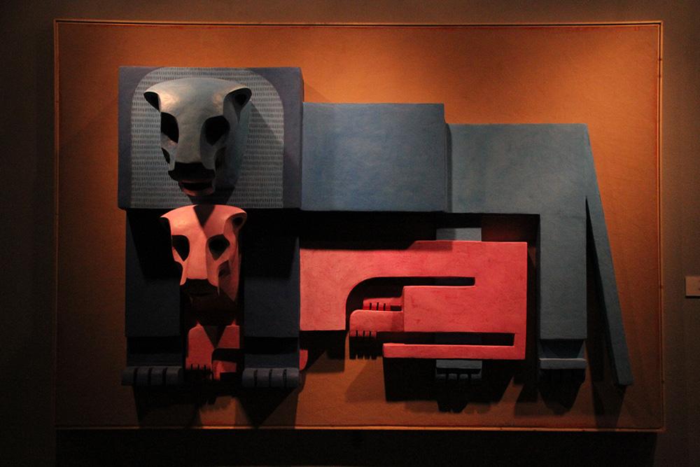 رونمایی از شیرهای پرویز تناولی در موزه هنرهای معاصر تهران