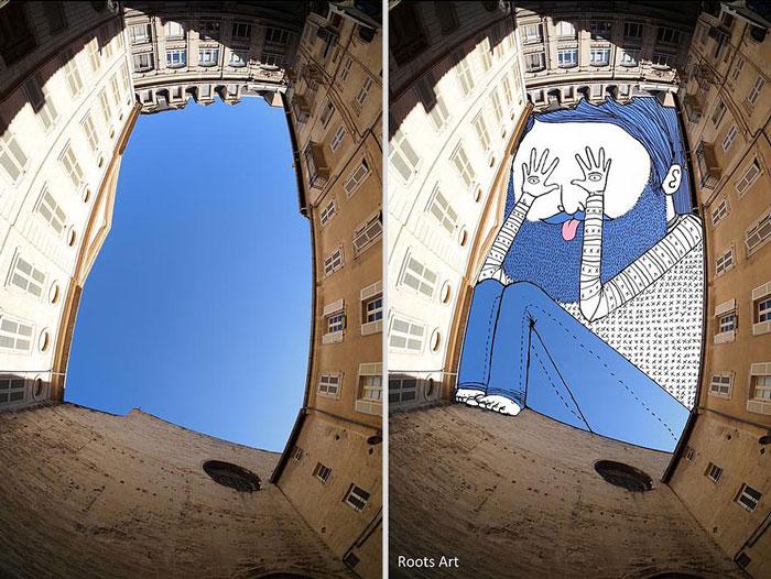 هنر خیالی آسمان