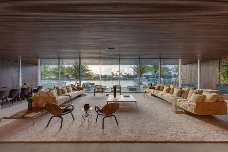 معماری و طراحی داخلی ویلای لوکس