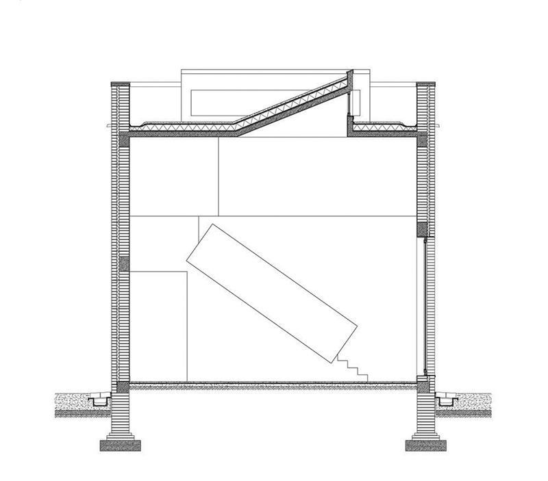 طراحی نما آجری با دیتیل اجرایی