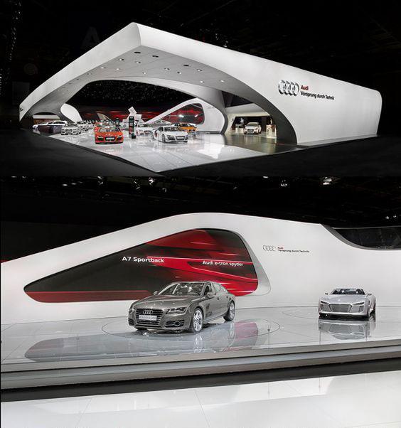 طراحی نمایشگاه ماشین