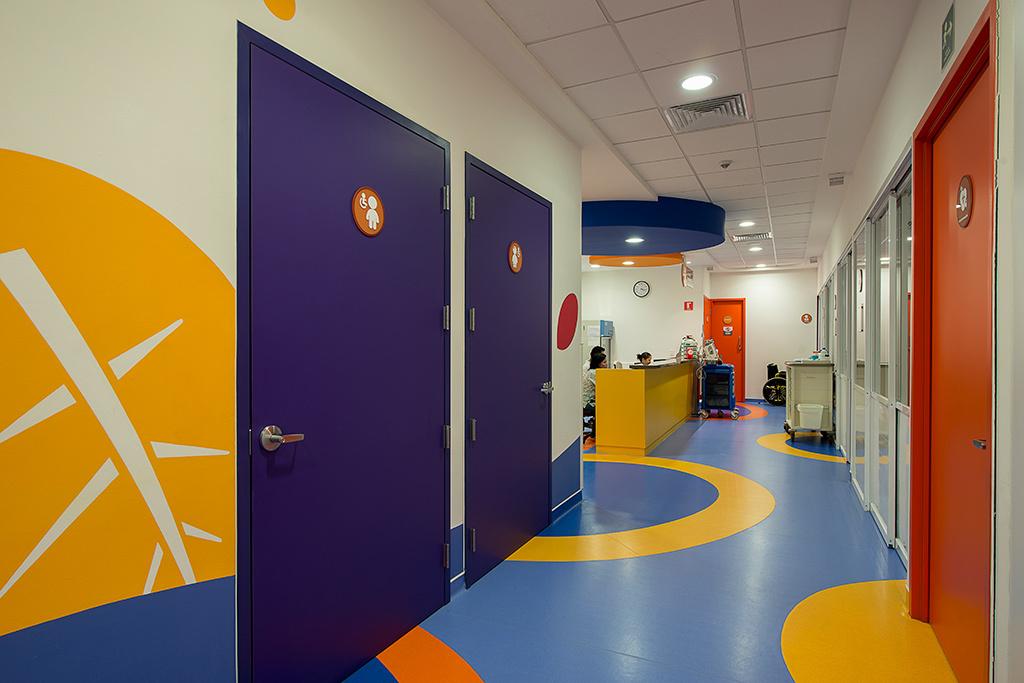 معماری و طراحی کلینیک درمانی کودکان سرطانی