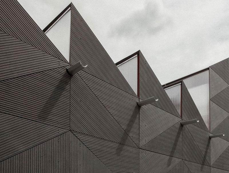 طراحی نماهای مدرن با متریال های نوین
