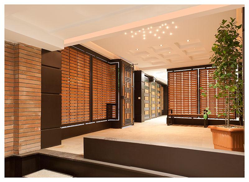 طراحی و معماری مجتمع مسکونی نیاوران