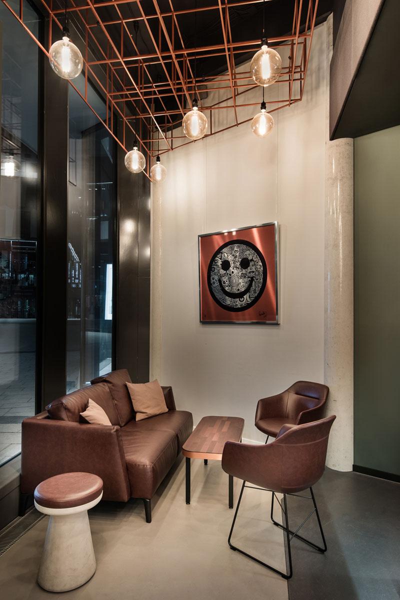 طراحی داخلی رستوران مدرن