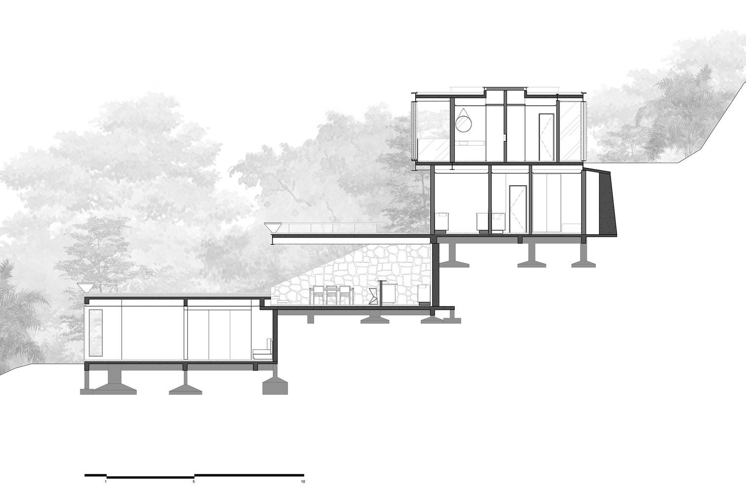طراحی ویلای لوکس و مدرن