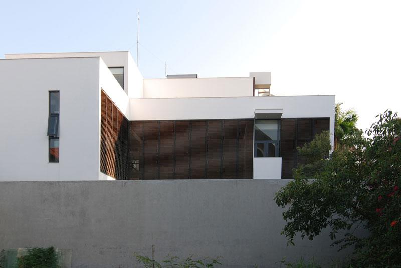 معماری ویلای تریبلکس مدرن