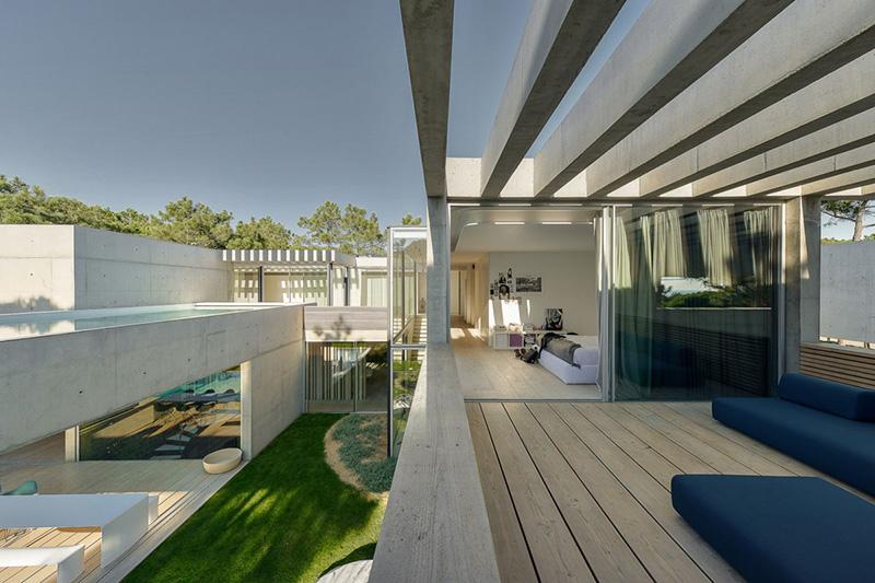 طراحی و ساخت ویلا دوبلکس مدرن