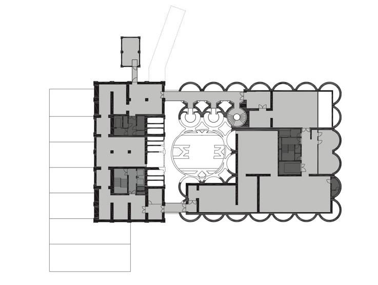 پلان طبقه دوم