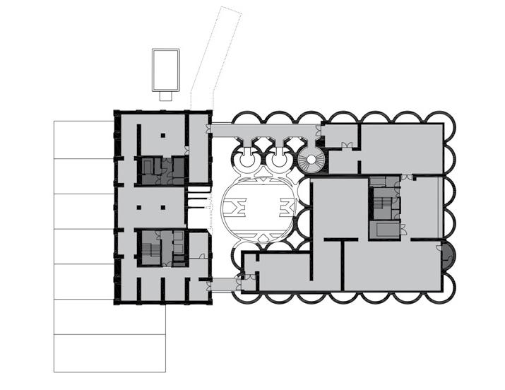 پلان طبقه سوم