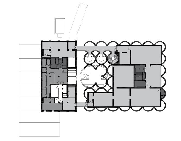 پلان طبقه چهارم